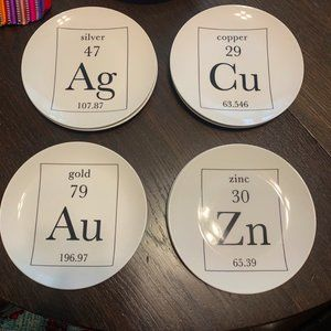 American Atelier Periodic Table of Elements Plates